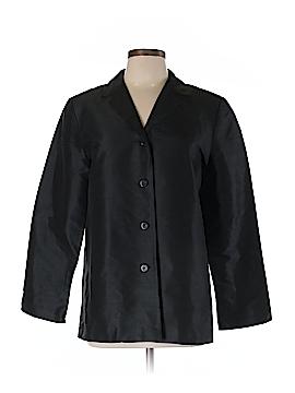 Rafaella Long Sleeve Silk Top Size 10