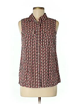 Cynthia Rowley for T.J. Maxx Sleeveless Button-Down Shirt Size M