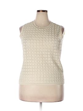 Max Mara Studio Silk Pullover Sweater Size XXL