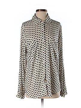 Matty M Long Sleeve Button-Down Shirt Size M