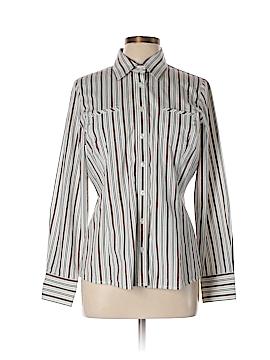 CAbi Long Sleeve Button-Down Shirt Size L