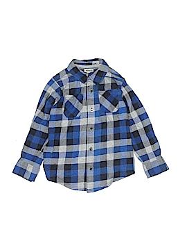 Ruff Hewn Long Sleeve Button-Down Shirt Size 5