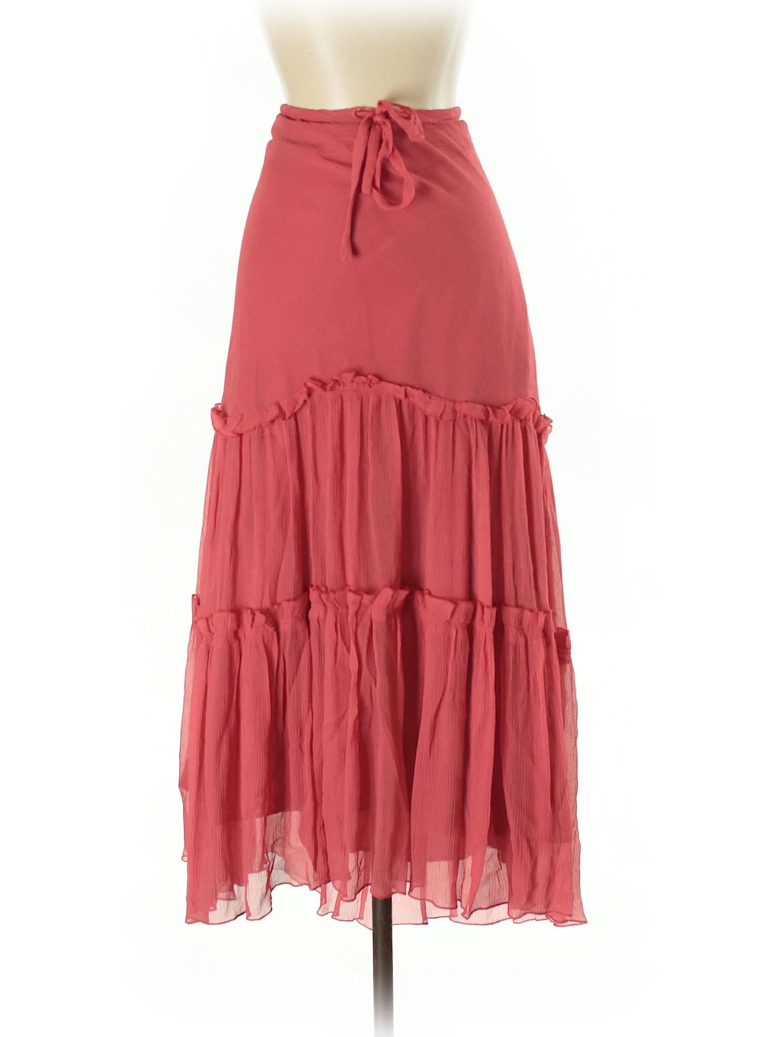 Boutique Boutique Silk Skirt Silk wva4x