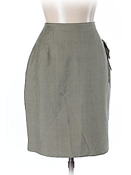 Halston Silk Skirt Size 12