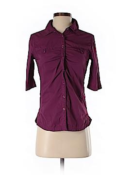 Eddie Bauer Short Sleeve Button-Down Shirt Size XS