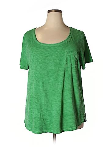 Lane Bryant Short Sleeve T-Shirt Size 22 (Plus)