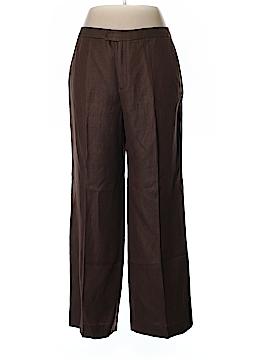 Linda Allard Ellen Tracy Silk Pants Size 14