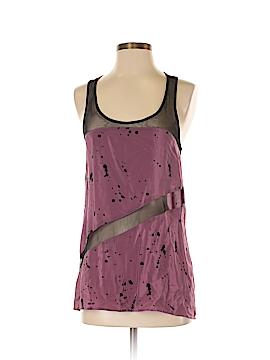 Petticoat Alley Sleeveless Silk Top Size XS