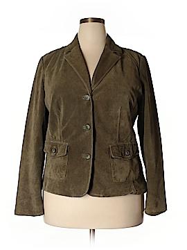 Eddie Bauer Leather Jacket Size XL