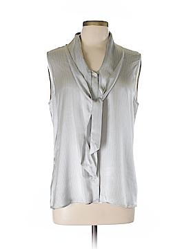 Giorgio Armani Sleeveless Silk Top Size Lg Italian Size 50