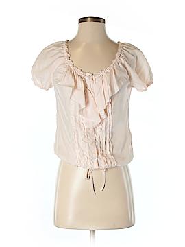 Abercrombie Short Sleeve Silk Top Size S