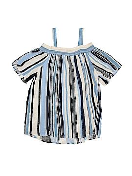 Monteau Girl Short Sleeve Blouse Size X-Large (Youth)