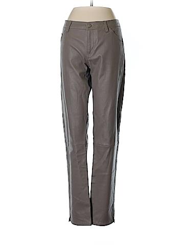 Giorgio Armani Leather Pants 29 Waist