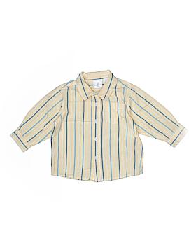 Koala Kids Long Sleeve Button-Down Shirt Size 12 mo