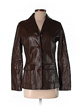 Eddie Bauer Leather Jacket Size XS