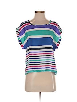 Ally B Women Short Sleeve Blouse Size S