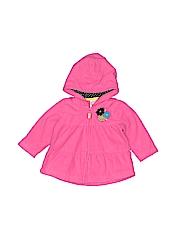 Carter's Girls Zip Up Hoodie Size 6 mo