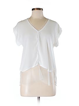 Shinestar Short Sleeve Blouse Size M