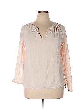 Cynthia Rowley for T.J. Maxx Long Sleeve Blouse Size XL