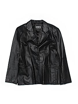 Clio Leather Jacket Size M