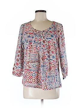 Lauren Jeans Co. 3/4 Sleeve Blouse Size M