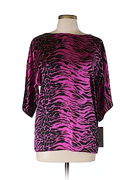 Corey Lynn Calter 3/4 Sleeve Silk Top Size 12