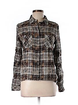 Drew Long Sleeve Button-Down Shirt Size L