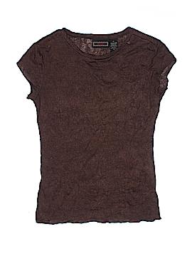 Licorice Short Sleeve Top Size M