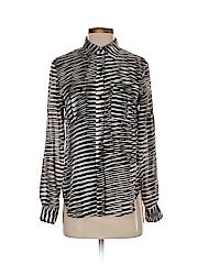 Calvin Klein Women Long Sleeve Blouse Size XS