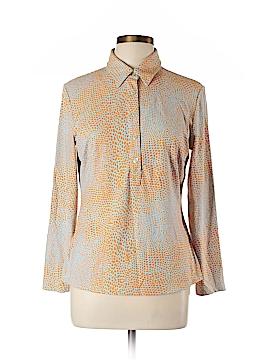 J. McLaughlin Long Sleeve Blouse Size L