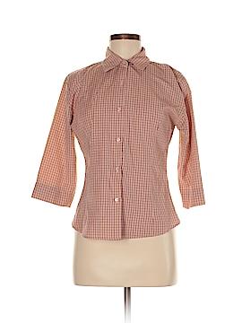 UNITI 3/4 Sleeve Button-Down Shirt Size M