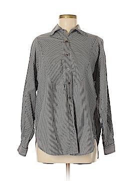 Anne Klein II Long Sleeve Button-Down Shirt Size 6