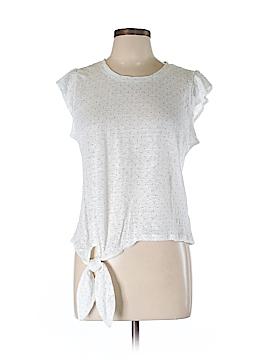 Maison Jules Short Sleeve Top Size L