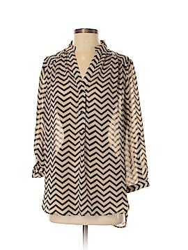 Tacera Long Sleeve Blouse Size S