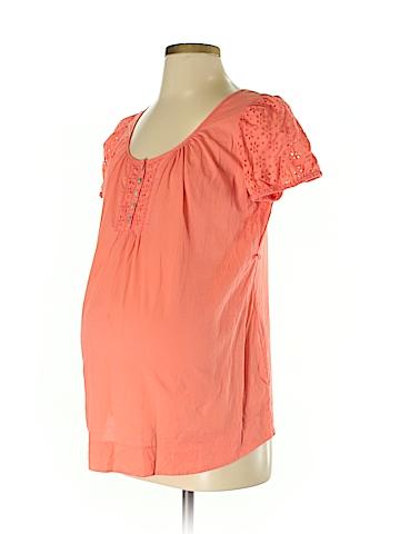 Motherhood Short Sleeve Blouse Size S (Maternity)