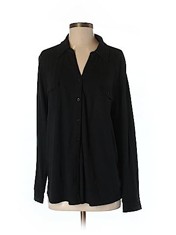 H&M Long Sleeve Button-Down Shirt Size 3