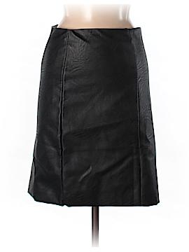 Julie Haus Faux Leather Skirt Size M