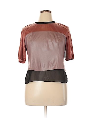 Bardelli Short Sleeve Blouse Size 14