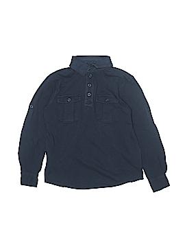 Gap Kids Long Sleeve Polo Size M (Kids)