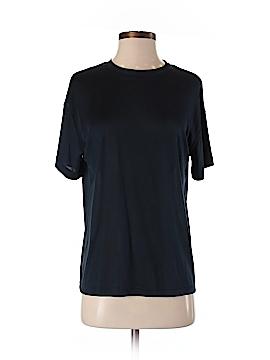 Barry Bricken Short Sleeve Silk Top Size S