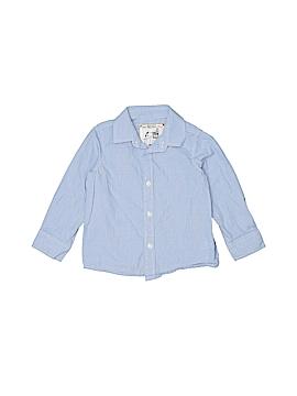 Monsoon Long Sleeve Button-Down Shirt Size 3T