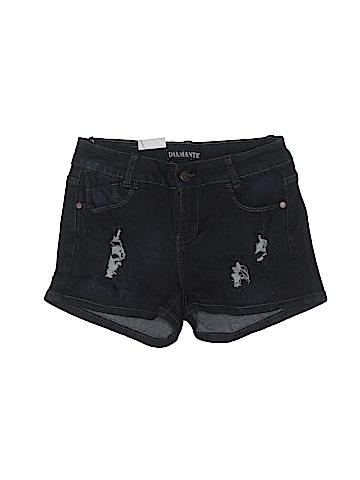 Diamante Denim Shorts Size 7