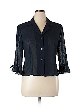 Studio I 3/4 Sleeve Blouse Size 14 (Petite)