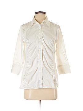 Liz Lange 3/4 Sleeve Button-Down Shirt Size S