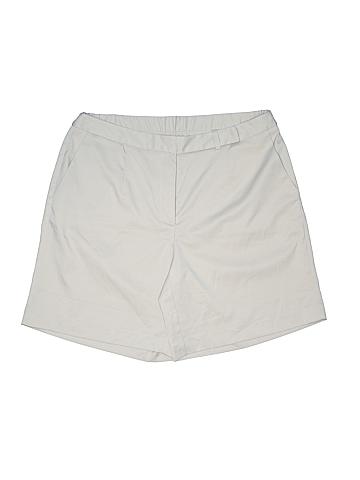 Talbots Khaki Shorts Size 14
