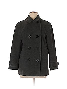 Lands' End Wool Coat Size 8 (Petite)
