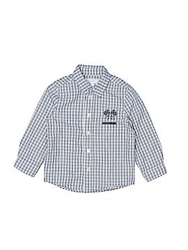 Tartine et Chocolat Long Sleeve Button-Down Shirt Size 2
