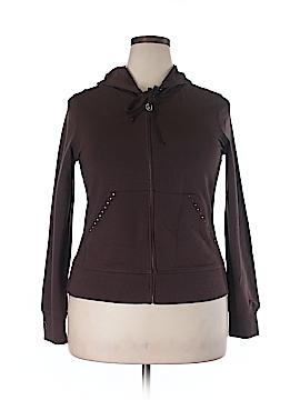CHRISTINE ALEXANDER Zip Up Hoodie Size XL