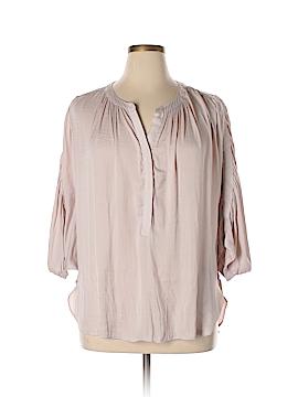Jennifer Lopez 3/4 Sleeve Blouse Size 0X (Plus)