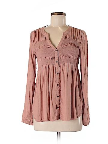 Knox Rose Long Sleeve Blouse Size M